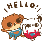 SONG SONG MEOW × din-dong Sticker for LINE & WhatsApp | ZIP: GIF & PNG