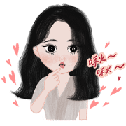 Sassy girls, move your body! Sticker for LINE & WhatsApp | ZIP: GIF & PNG