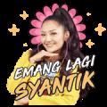 Siti Badriah: Lagi Syantik Sticker for LINE & WhatsApp | ZIP: GIF & PNG