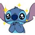 Stitch Sticker for LINE & WhatsApp | ZIP: GIF & PNG