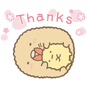Sumikko Gurashi: Kind Words Sticker for LINE & WhatsApp | ZIP: GIF & PNG