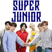 Super Junior in Super TV Sticker for LINE & WhatsApp | ZIP: GIF & PNG