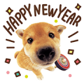 THE DOG New Year's Greetings