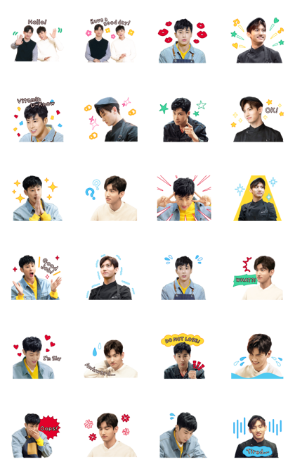 TVXQ!'s The 72-Hour Line Sticker GIF & PNG Pack: Animated & Transparent No Background | WhatsApp Sticker