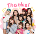 TWICE Sticker for LINE & WhatsApp | ZIP: GIF & PNG