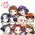 "TWICE ""Candy Pop"" Sticker for LINE & WhatsApp 