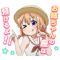 Talking GochiUsa Stickers Vol. 2