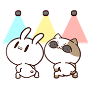 Tofu Cat Animated Sticker for LINE & WhatsApp | ZIP: GIF & PNG