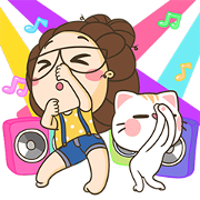 TuaGom: Pop-Up Stickers Sticker for LINE & WhatsApp | ZIP: GIF & PNG
