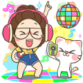 TuaGom: Pop-Up Stickers 3 Sticker for LINE & WhatsApp | ZIP: GIF & PNG