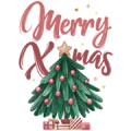 Warm Xmas Music Stickers Sticker for LINE & WhatsApp | ZIP: GIF & PNG