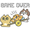 sinkcomic cat's GAME DAILY Sticker for LINE & WhatsApp | ZIP: GIF & PNG