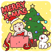 [BIG] MR.HH Year-End Stickers Sticker for LINE & WhatsApp | ZIP: GIF & PNG