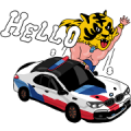 BMW'S WORLD Sticker for LINE & WhatsApp | ZIP: GIF & PNG