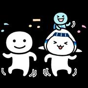 Betsuni Iijan & ANA Soracchi Sticker for LINE & WhatsApp | ZIP: GIF & PNG