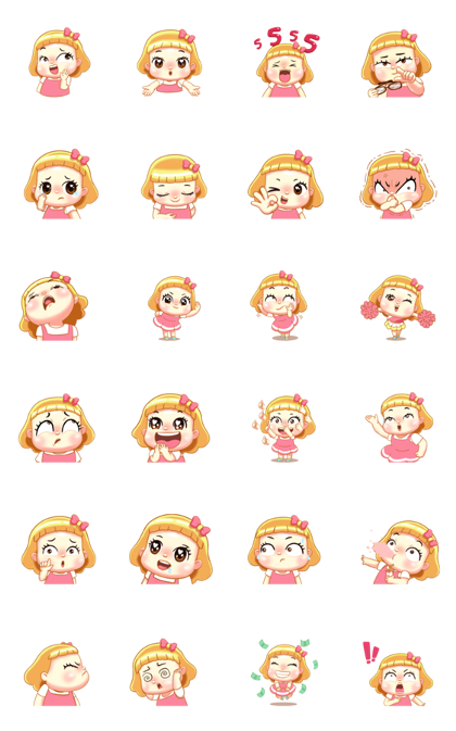 Biscuit Too Cute Line Sticker GIF & PNG Pack: Animated & Transparent No Background | WhatsApp Sticker