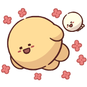 Cute and Confident! Dow-Dow Sticker for LINE & WhatsApp | ZIP: GIF & PNG
