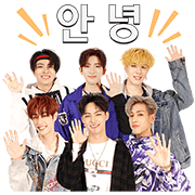 GOT7 Exclusive Stickers Sticker for LINE & WhatsApp | ZIP: GIF & PNG