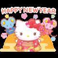 Hello Kitty CNY Stickers (2020)