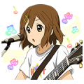 K-ON!! Sticker for LINE & WhatsApp | ZIP: GIF & PNG