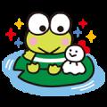 KEROKEROKEROPPI Sticker for LINE & WhatsApp | ZIP: GIF & PNG