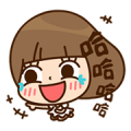 Kinoko & Labito Secret Inner Feelings Sticker for LINE & WhatsApp | ZIP: GIF & PNG