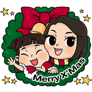 Knorr: Happy Special X'mas Day Sticker for LINE & WhatsApp | ZIP: GIF & PNG