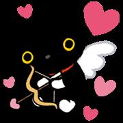 Kutsushita Nyanko: Lots of Love Sticker for LINE & WhatsApp | ZIP: GIF & PNG