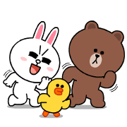 LINE Characters: High Voltage Sticker for LINE & WhatsApp | ZIP: GIF & PNG