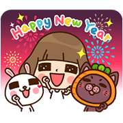 Labito & Karoto's Daily Life Sticker for LINE & WhatsApp | ZIP: GIF & PNG