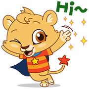 Lenny & Friends Sticker for LINE & WhatsApp | ZIP: GIF & PNG