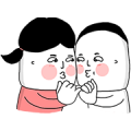 Lu's (Cartoon Life) Sticker for LINE & WhatsApp | ZIP: GIF & PNG