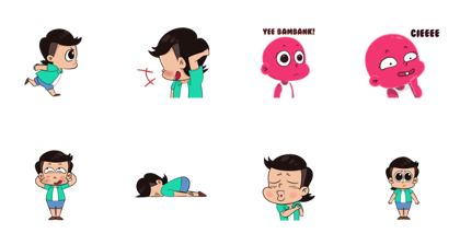 Om Perlente Line Sticker GIF & PNG Pack: Animated & Transparent No Background | WhatsApp Sticker
