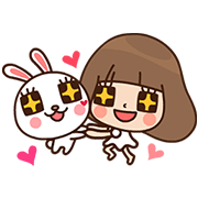 PUZZLE's Motion Party by Labito & Kinoko Sticker for LINE & WhatsApp | ZIP: GIF & PNG