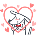 Richart's cuteness overloaded! Sticker for LINE & WhatsApp | ZIP: GIF & PNG
