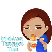 Selalu Ada VIRA Sticker for LINE & WhatsApp | ZIP: GIF & PNG