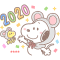 Snoopy CNY Custom Stickers (2020)