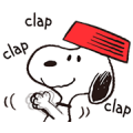 Snoopy Gets Movin'