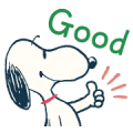 Snoopy: Peanuts (60's) Sticker for LINE & WhatsApp | ZIP: GIF & PNG