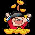 Taipei Fubon Doll Anniversary Edition Sticker for LINE & WhatsApp | ZIP: GIF & PNG