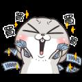 Very Miss Rabbit: Many Tricks Sticker for LINE & WhatsApp | ZIP: GIF & PNG