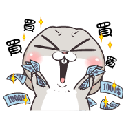 Very Miss Rabbit: Many Tricks Sticker for LINE & WhatsApp | ZIP: GIF & PNG
