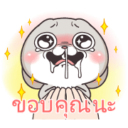 Very Miss Rabbit: Sincere Sticker for LINE & WhatsApp | ZIP: GIF & PNG