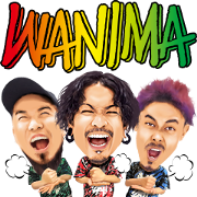 WANIMA 1CHANCE Stickers Sticker for LINE & WhatsApp | ZIP: GIF & PNG