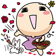 Wan Wan (Happy Together) Sticker for LINE & WhatsApp | ZIP: GIF & PNG