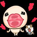 Wan Wan: Shake Bum Bum Sticker for LINE & WhatsApp | ZIP: GIF & PNG
