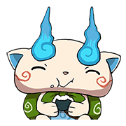 YO-Kai Watch Daily Edition Sticker for LINE & WhatsApp | ZIP: GIF & PNG