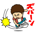 YOSHIMOTO ENTERTAINERS vol.3 Sticker for LINE & WhatsApp | ZIP: GIF & PNG