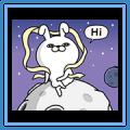 YOSISTAMP-Rabbit 100% Moon Stickers