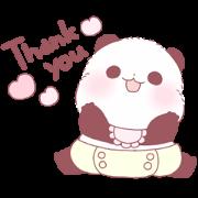 Yururin Panda: Baby Edition Sticker for LINE & WhatsApp | ZIP: GIF & PNG